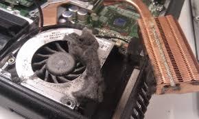 czyszczenie chłodzenia laptopa